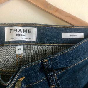 Frame Denim Le Garçon Jeans Size 28